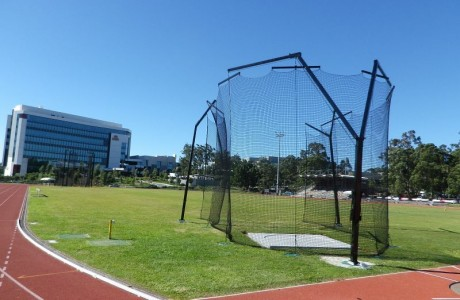 Gold Coast Griffith University Apollo Discus Cage