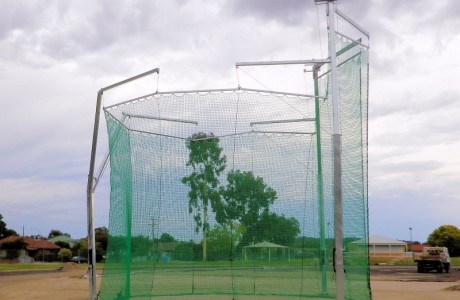Albury City Council - Alexandra Park Athletics Track Hammer Cage