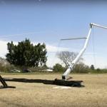 Thor 9 Hand winch raising main pole